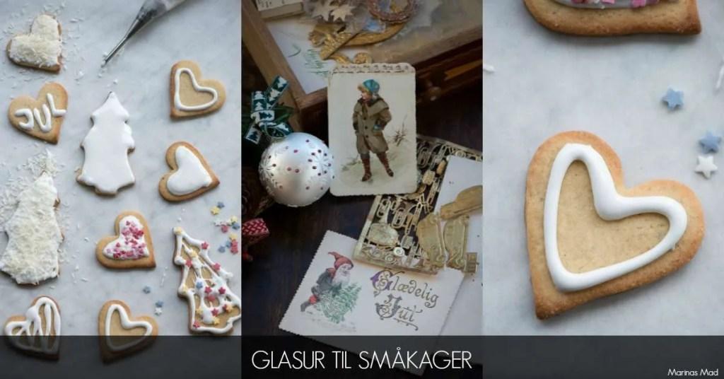 Glasur til jule småkager