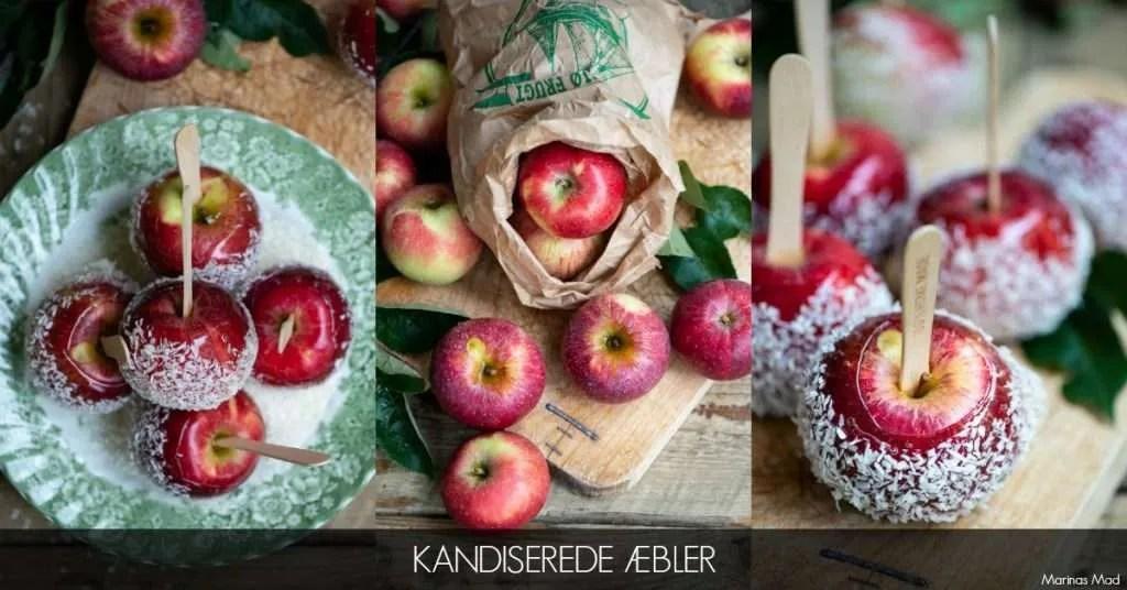 Julens bedste kandiserede æbler
