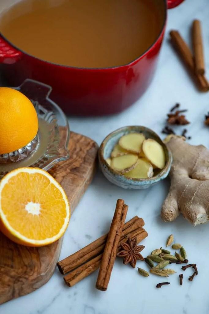 Krydderier til æblegløgg