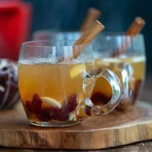 Opskrift på æblegløgg