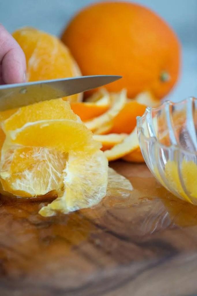 appelsinfileter til rødkålssalat