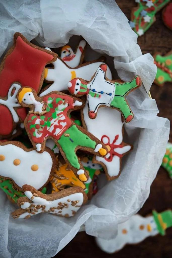 Børnenes julesmåkager med glasur