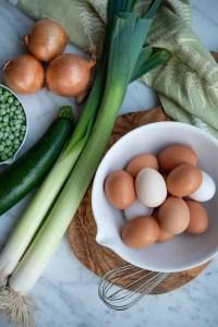 Grøntsager til frittata