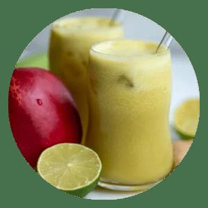 Juice af bladselleri og æble