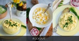 Opskrift på æggesalat