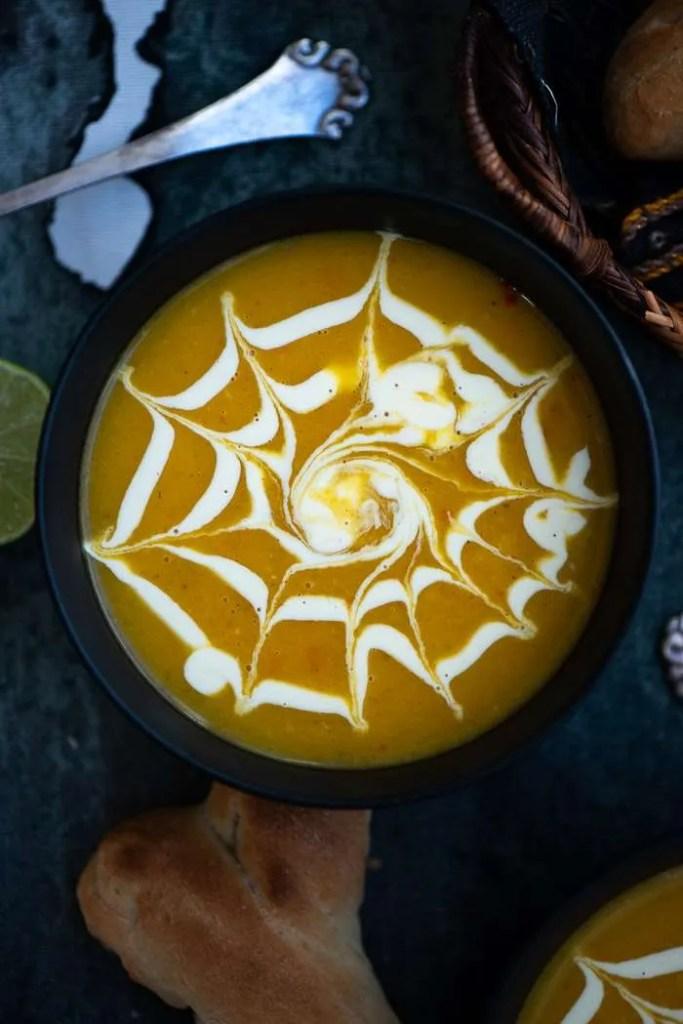 Opskrift på suppe med spindelvæv