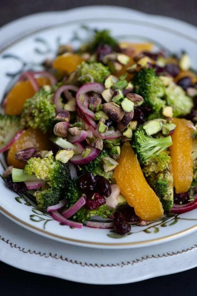 Broccolisalat med appelsin