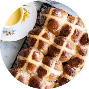 Opskrift på Hot Cross Buns