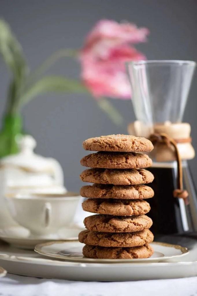 Ingefær cookies til kaffe