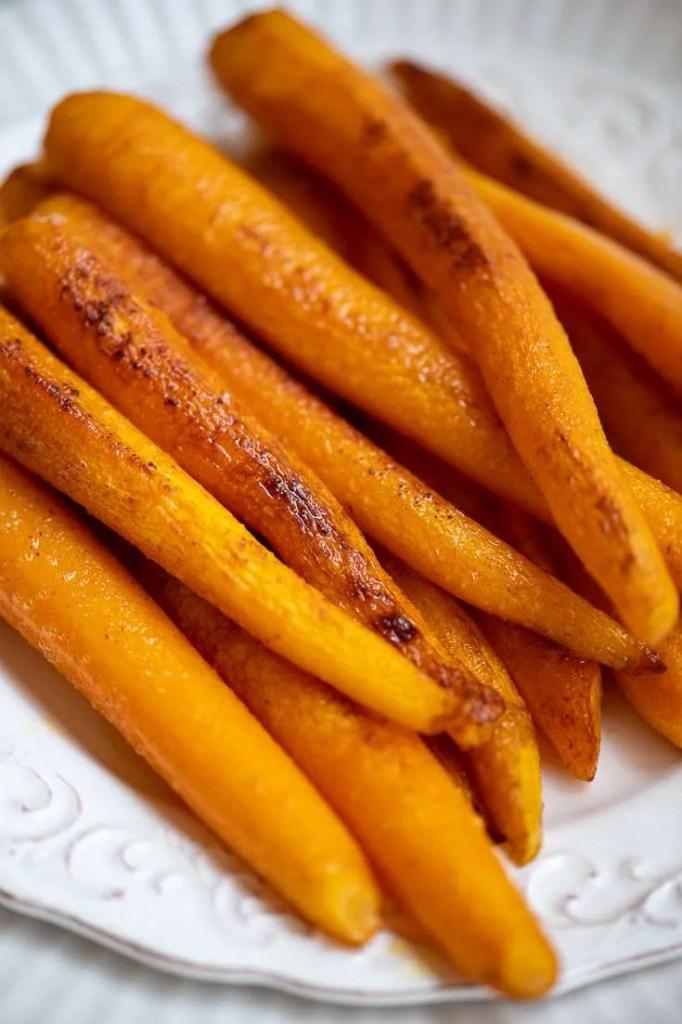 Opskrift på smørstegte gulerødder