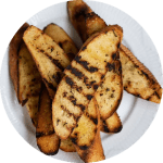 Opskrift på grillede brød med rosmarin og hvidløg