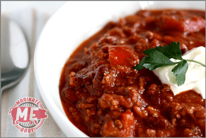 Chili Con Carne (Texas Red)