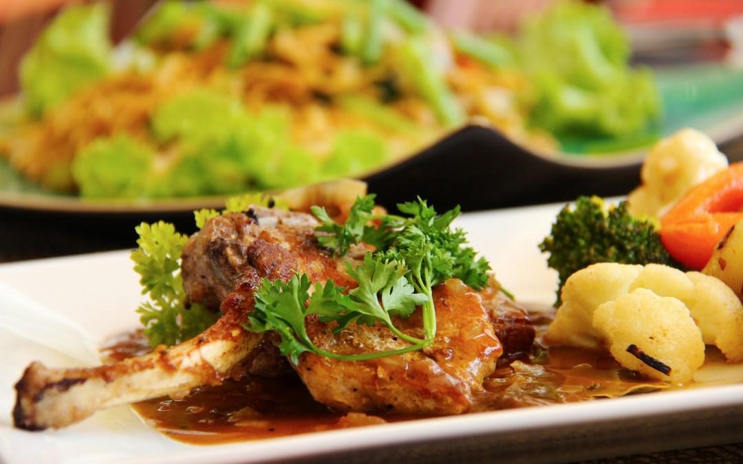Grilled Orange Lamb Chop