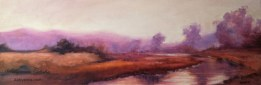 "A Warm Afternoon at McInnis, 12""x36"" Oil on Canvas"