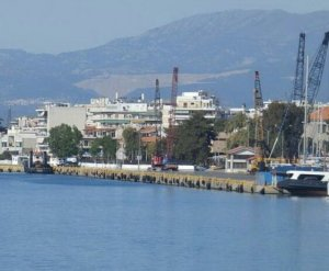 Ali Osman departure from port chalkis
