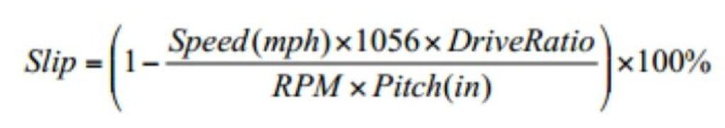 Ship Slip formula