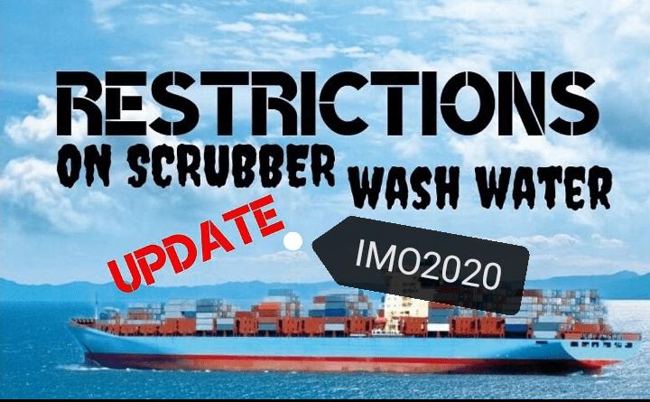 IMO 2020 gas scrubber