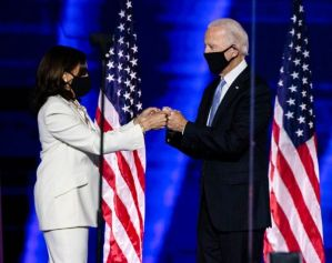 Joe Biden (Right) and Kamala Harris (Left)