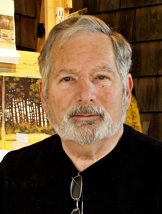 Painter Steve Rogers creates beautiful marine art.