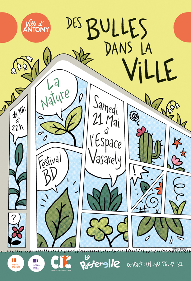 Read more about the article Des Bulles dans la Ville