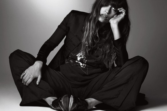 Caroline de Maigret for l'Officiel by Damon Baker
