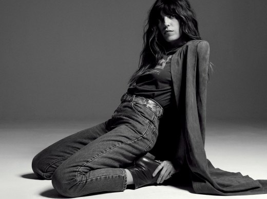 Lou Doillon for l'Officiel by Philip Gay