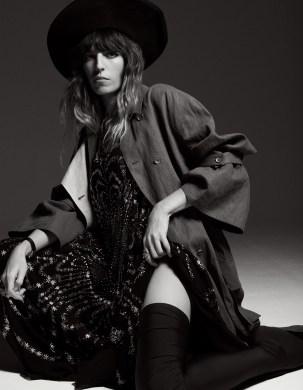 Lou Doillon for Interview Germany by Philip Gay