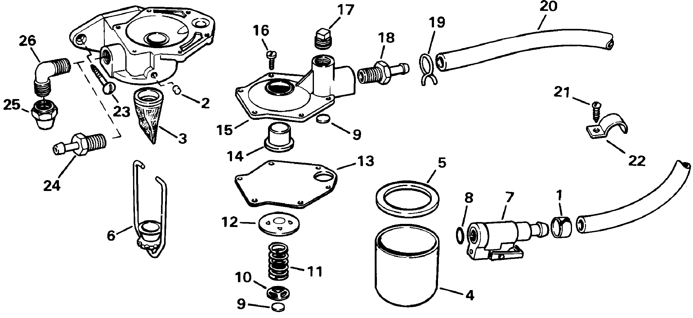 Primer Pump Kit Fuel Systems Accessories For