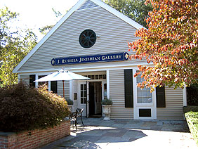 JRJGallery Front 9 2012 - A look at the J. Russell Jinishian Gallery Fine marine art in Fairfield