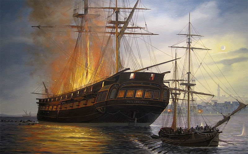 garnett firingphil - A look at the J. Russell Jinishian Gallery Fine marine art in Fairfield