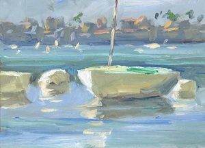 tombrown 300x216 - FINE ART: NEWPORT HARBOR
