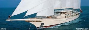Sailing Mega Yacht Athena