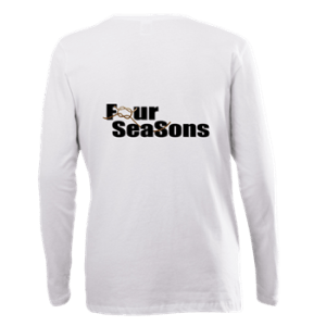 Women's Plus Longsleeve with boat name