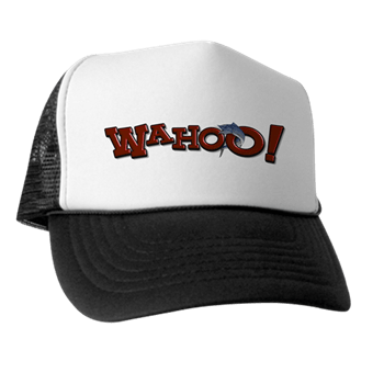Trucker hat with boat name