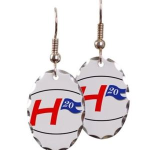 h20 ovalearrings - Oval Earrings