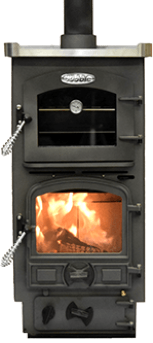Bubble Solid Fuel Stove Cooker - Bubble 4B Multi Fuel Pie Pod