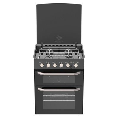 HALF CAPRICE OVEN AND GRILL BLACK