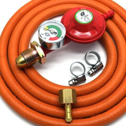 Changing Your LPG Bottle Gas Regulator And Hose - Propane
