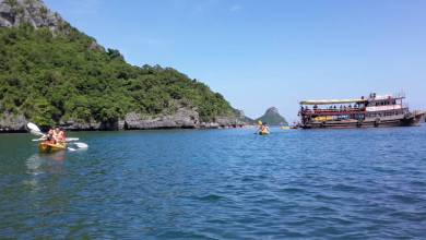 Photo of Kayaking in the Gulf of Thailand
