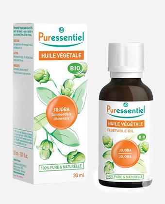 L'huile de jojoba Puressentiel : un sébum végétal