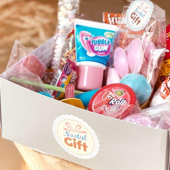 Box bonbons années 80 Nostalgift