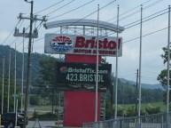 NASCAR's Bristol Speedway.