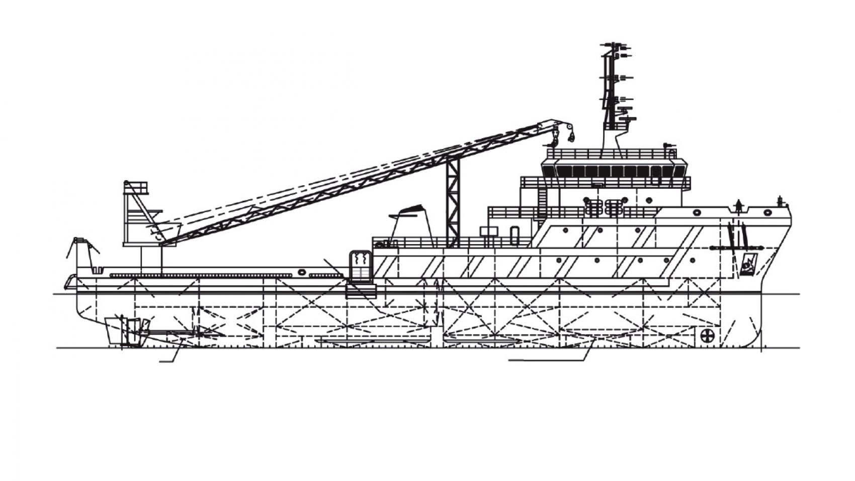 66m Multi Purpose Vessel For Sale Or Charter