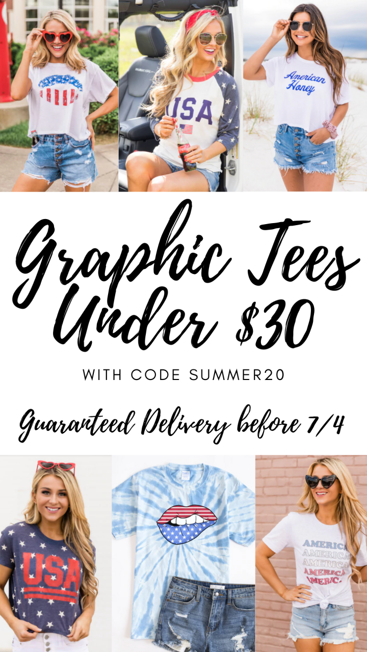 4th of July Graphics, Sweatshirts, Dresses, Swimwear, Accessories and More!