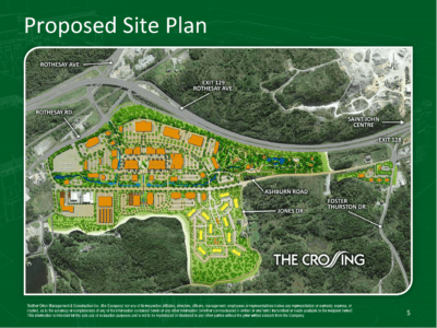 Ashburn Crossing Plan