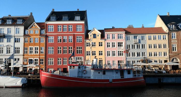 Un long week-end à Copenhague - Il était une maille