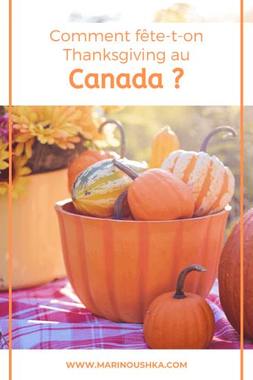 Fêter Thanksgiving au Canada