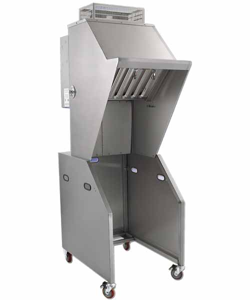 ventless hood exhaust system 24 inch wide capacity hmvh23 item hmvh23