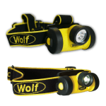 Wolf Intrinsically Safe Head Torches