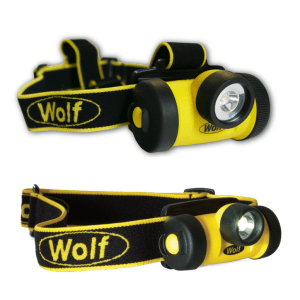 Wolf Intrinsically Safe Head Torches